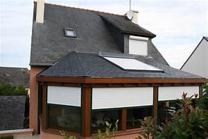 Velux 78x98 Avec Volet Roulant : ides de volet roulant fenetre de toit galerie dimages ~ Melissatoandfro.com Idées de Décoration
