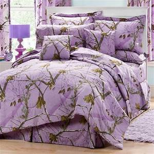 Realtree, Ap, Lavender, Camo, Camouflage, Bedding