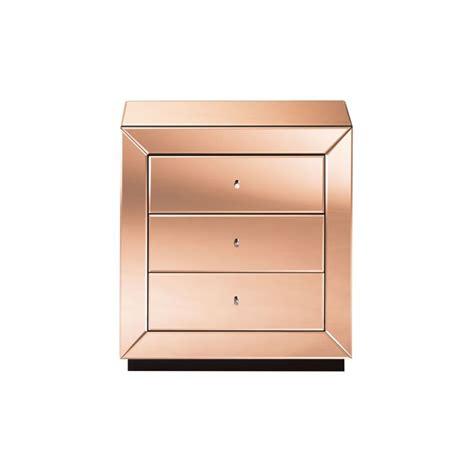 rose gold bedside table optical bedside table domayne online store 499