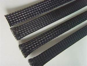 Nylon 2m Mesh Tube  Braided Nylon Sleeve For Wire