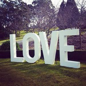 17 best images about the love sign big giant love With big letters for wedding