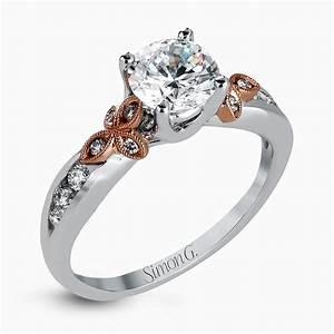 designer engagement rings and custom bridal sets simon g With engagement ring with wedding ring