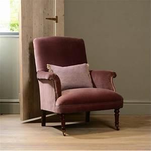 Petit Fauteuil Confortable : fauteuil anglais keswich en tissus de velours longfield 1880 ~ Teatrodelosmanantiales.com Idées de Décoration