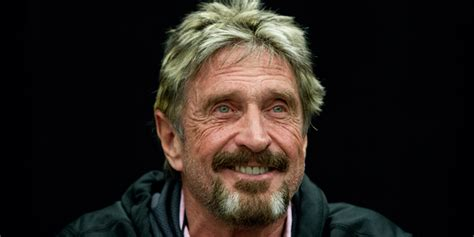 John Mcafee And Intel Settle Their Lawsuits  Business Insider
