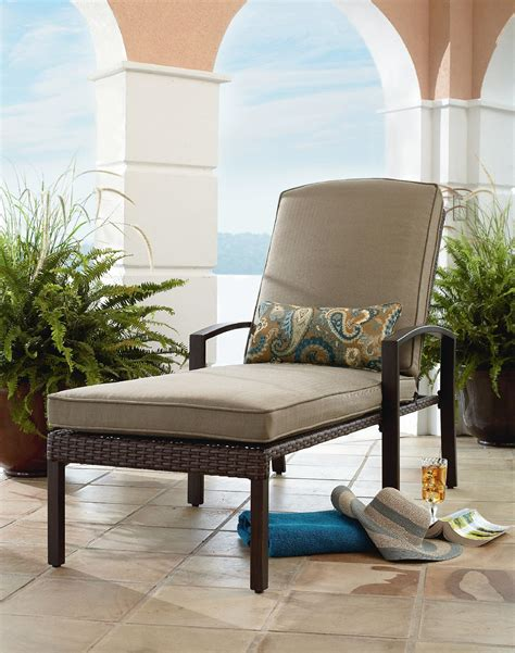 grand resort river oak chaise lounge outdoor living