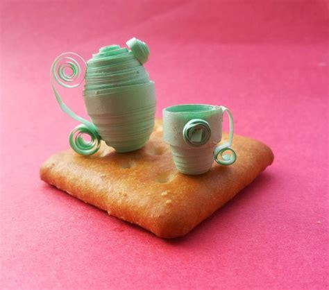 Paper Quilling Tea Cup