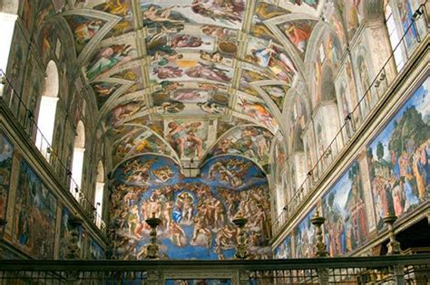 Painted The Ceiling Of The Sistine Chapel In Rome by The Measure Of Genius Michelangelo S Sistine Chapel At