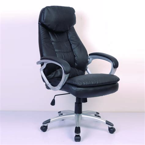la boutique en ligne fauteuil de bureau cro te de cuir noir vidaxl fr
