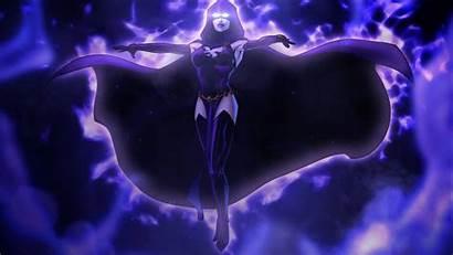 Raven Dc Wallpapers Dcuo Titans Teen Comics