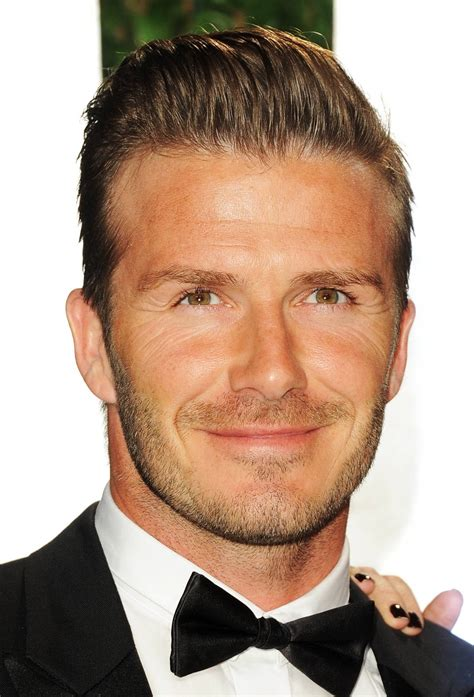 david beckham hair styles sports stars