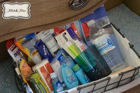 Items Necessary To Prepare Your Home For Guests