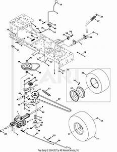 Mtd 13a2775s000  2014  Parts Diagram For Transmission