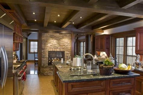 kitchens  fireplaces photo gallery home
