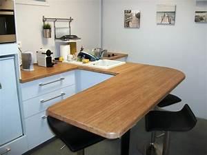 Plan De Travail De Cuisine : plan de travail cuisine ikea art 39 b nart 39 b n ~ Edinachiropracticcenter.com Idées de Décoration
