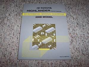 2008 Toyota Highlander Hybrid Electrical Wiring Diagram
