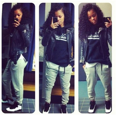 1607 best Girls In Jordans images on Pinterest | Cool outfits Fashion killa and Girl swag