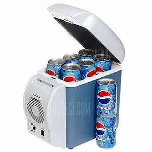 Frigo Mini Pas Cher : gearbest mini frigo de voiture capacit 7 5 litres 13 35 ~ Nature-et-papiers.com Idées de Décoration