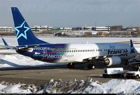 air transat francais canada boeing 737 8k2 air transat transavia aviation photo 2387854 airliners net