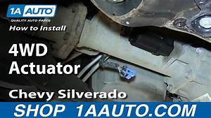 How To Install Replace Front Axle Actuator 2007