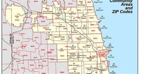 Zip Code Map Chicago Area Suburbs