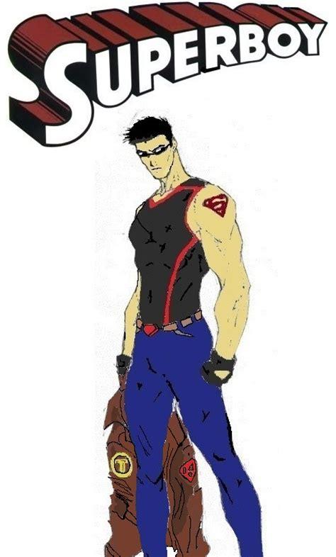 Superboy New 52 Design Colored By Nhrynchuk On Deviantart