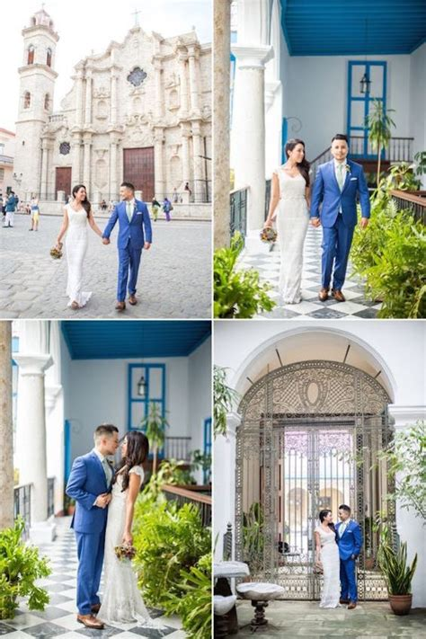 cuban inspired wedding   tropical trend  lots
