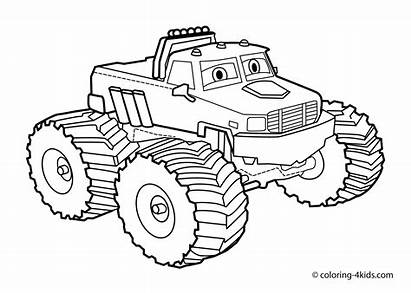 Coloring Transportation Pages Preschool