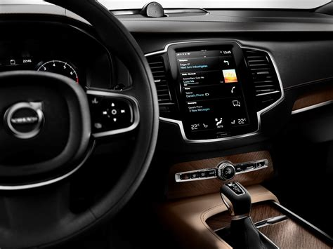 volvo xc90 interior 2016 volvo xc90 wins american truck of the year