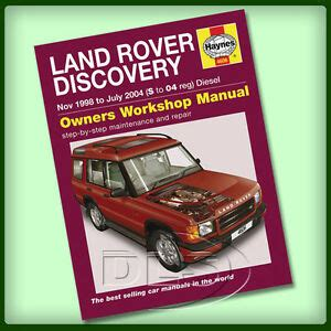 car manuals free online 1994 land rover discovery parental controls land rover discovery 2 diesel haynes workshop manual 1998 to 2004 da4493