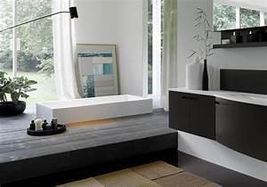 35 salles de bains design elle decoration With salle de bain design avec adhésif de décoration