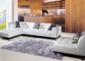 White sectional sofa living room beach with area rug blue for Sectional sofa area rug