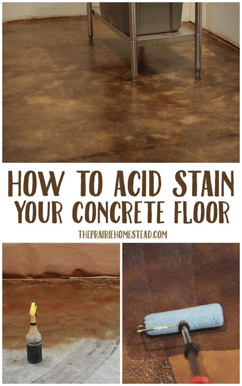 Best 25+ Stained Concrete Ideas On Pinterest Acid