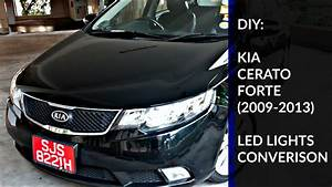 Diy  Kia Cerato Forte Led Lights