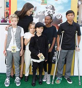 Angelina Jolie's Kids Are All Grown Up at 'Kung Fu Panda 3 ...