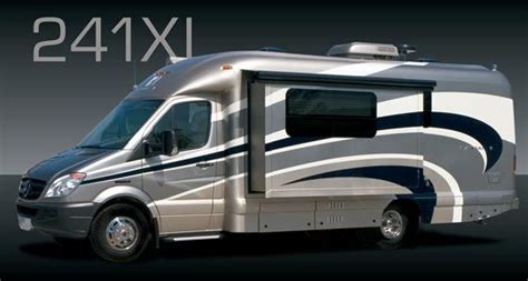 With it's unique style to be able to take you anywhere on the open road, while still containing the spacious interior to feel at home. Coach House Platinum Class C motorhome model 241XL Mercedes-Benz chassis | Small motorhomes ...