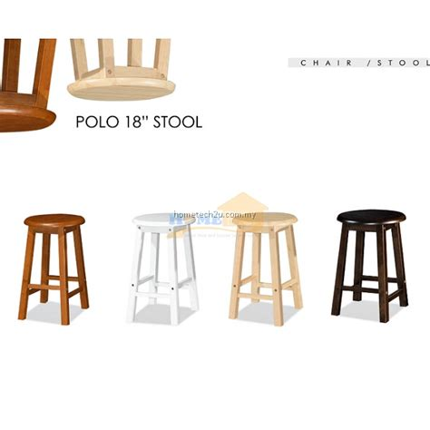 uhome   rounded wooden bar stool chair  coffee