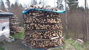 Rangement Buches Exterieur : stockage bois de chauffage abri ~ Melissatoandfro.com Idées de Décoration