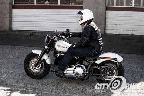 Harley Davidson Softail Slim Modification by Softail Slim Cafe Racer Amatmotor Co