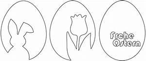 Ostereier Schablonen Zum Ausdrucken : 3 vorlagen f r schnelle schlichte osterdeko aus papier osterhase tulpe frohe ostern ~ Yasmunasinghe.com Haus und Dekorationen