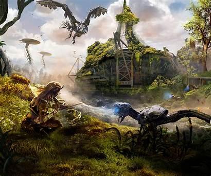 Horizon Dawn Zero Wallpapers 4k Pc Games