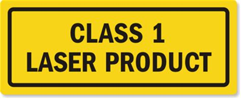 Safety Labels by Class 1 Laser Product Label Sku Lb 0405