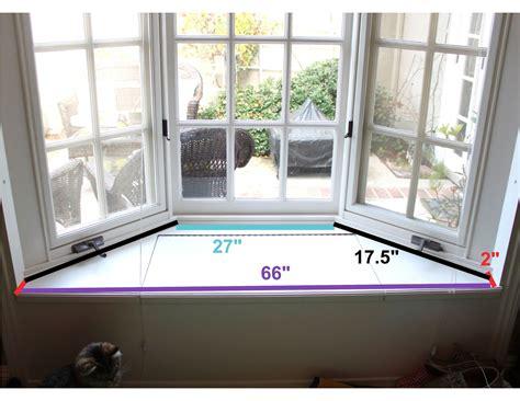 window seat dimensions the smitten mintons no sew window seat cushion