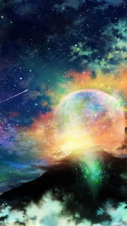 Iphone Night Sky Amazing Dark Space Star