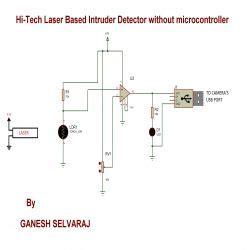 Tech Laser Based Intruder Detector Engineersgarage