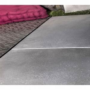 dalle de terrasse a clipser en pierre reconstituee With beton cire pour terrasse