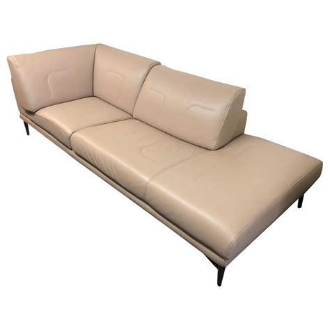 roche bobois utopic chaise sofa  sale  stdibs