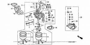 Honda Engines Gx340k1 Qa2 Engine  Jpn  Vin  Gc05