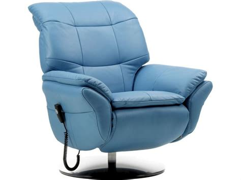 stylo leather electric recliner chair longlands