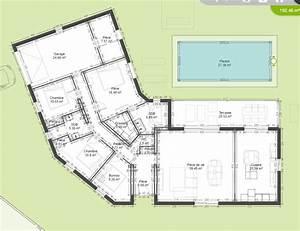 Plan Maison U : plans de maison 150m2 ~ Dallasstarsshop.com Idées de Décoration