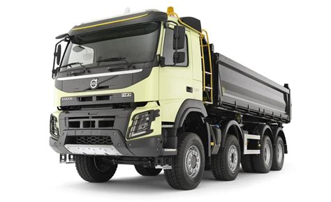 volvo truck new volvo fmx truck launched autoevolution